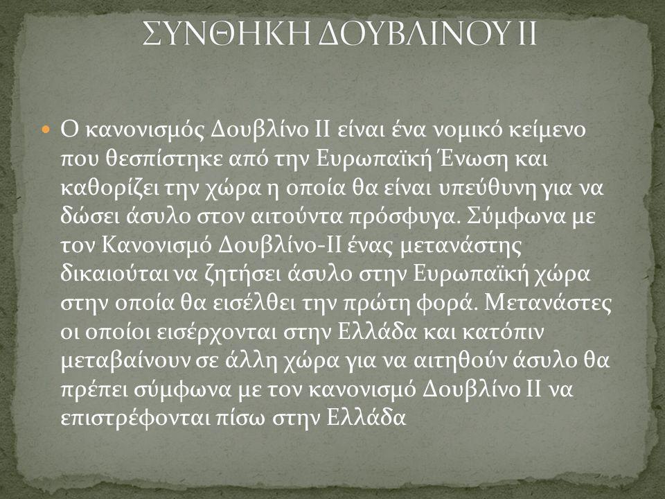 ΣΥΝΘΗΚΗ ΔΟΥΒΛΙΝΟΥ ΙΙ