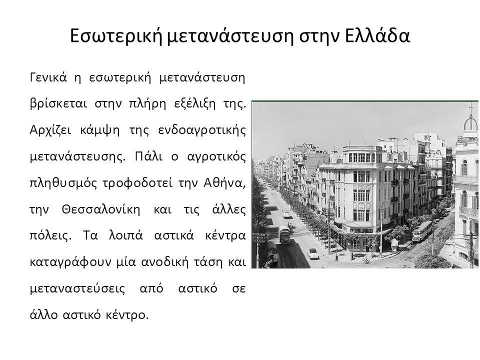 Εσωτερική μετανάστευση στην Ελλάδα
