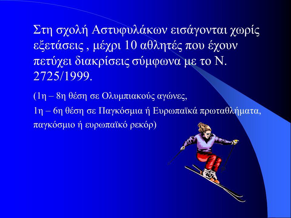 (1η – 8η θέση σε Ολυμπιακούς αγώνες,