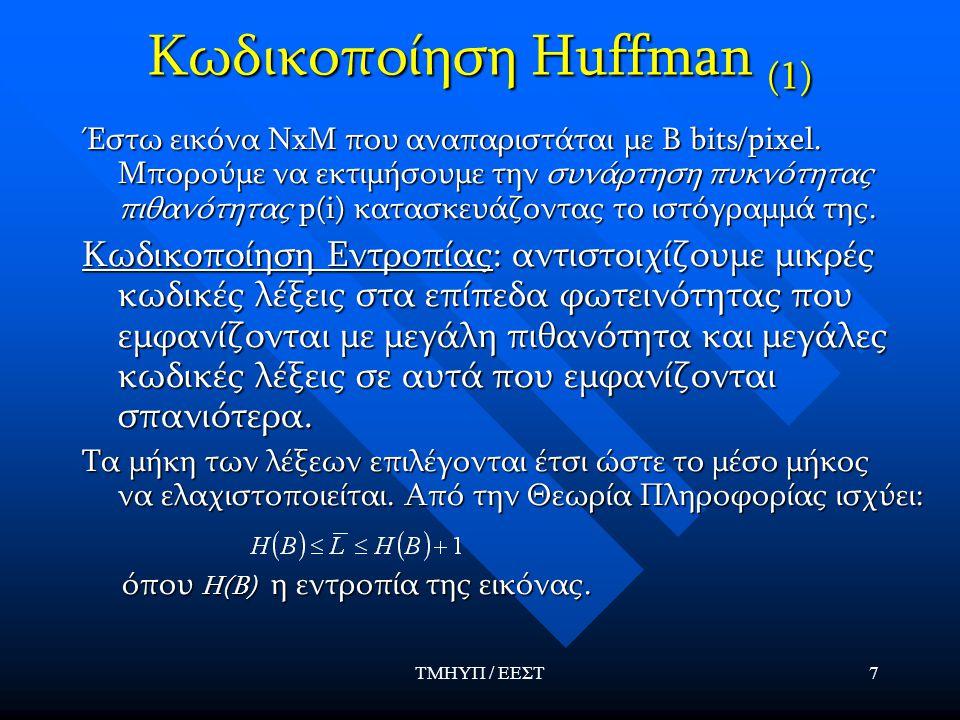 Κωδικοποίηση Huffman (1)