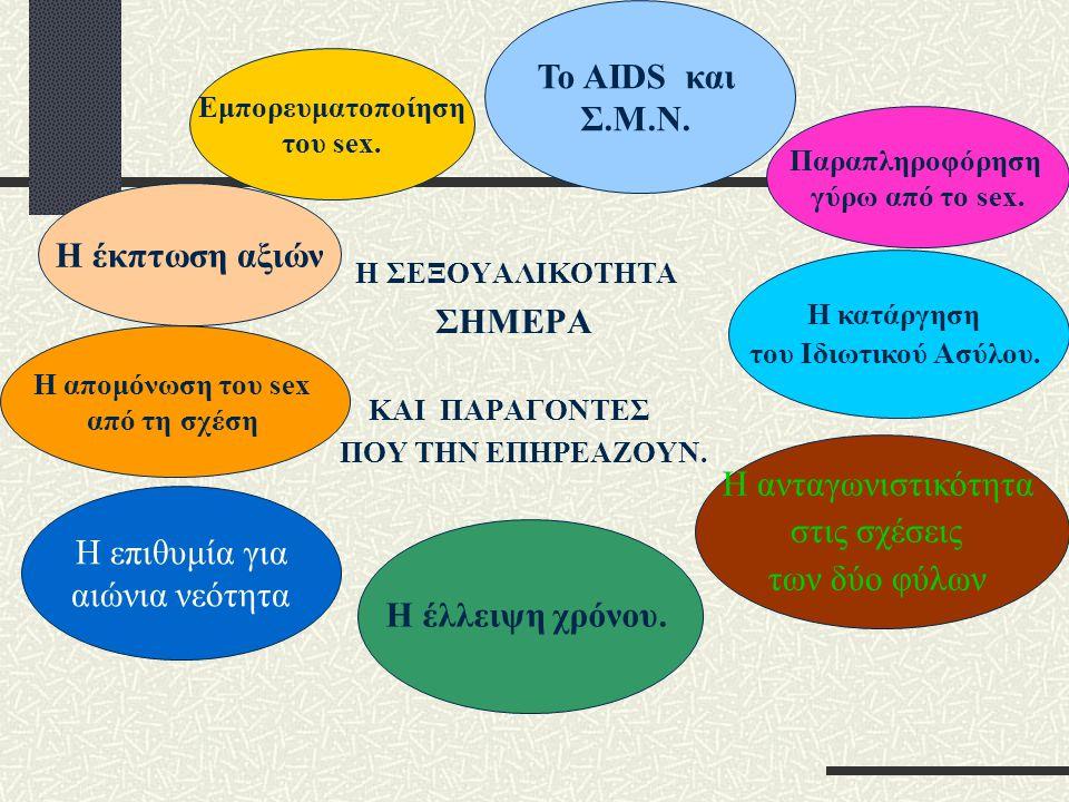 Το AIDS και ΣΗΜΕΡΑ Η έκπτωση αξιών