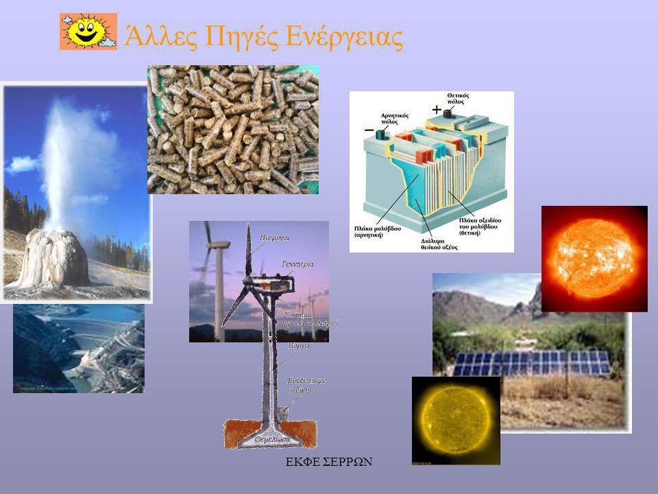 Άλλες Πηγές Ενέργειας ΕΚΦΕ ΣΕΡΡΩΝ