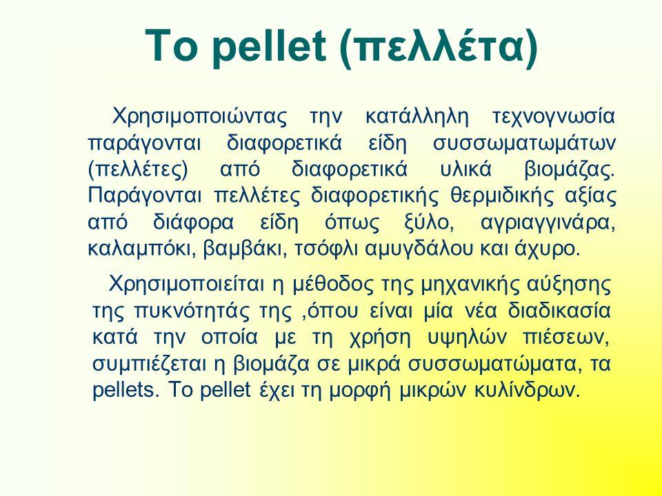 Το pellet (πελλέτα)