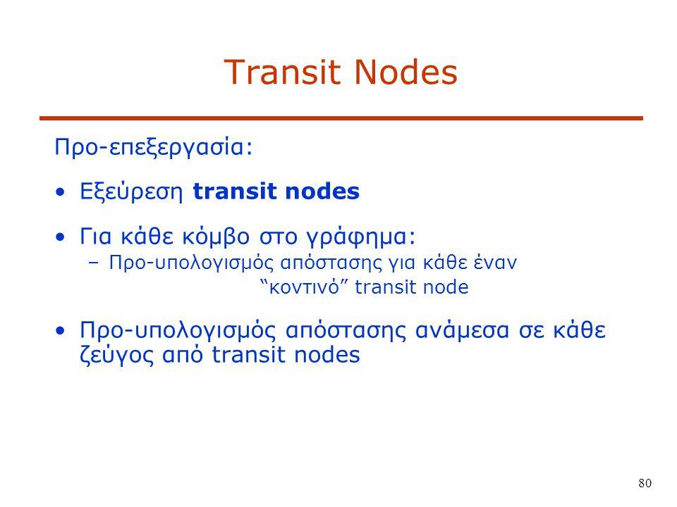 κοντινό transit node