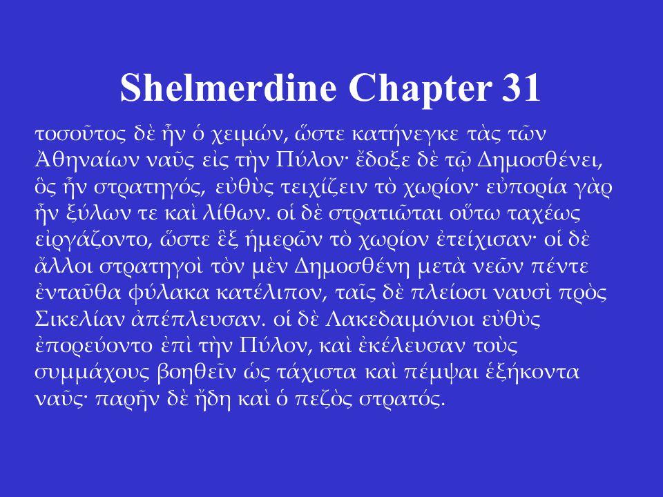 Shelmerdine Chapter 31