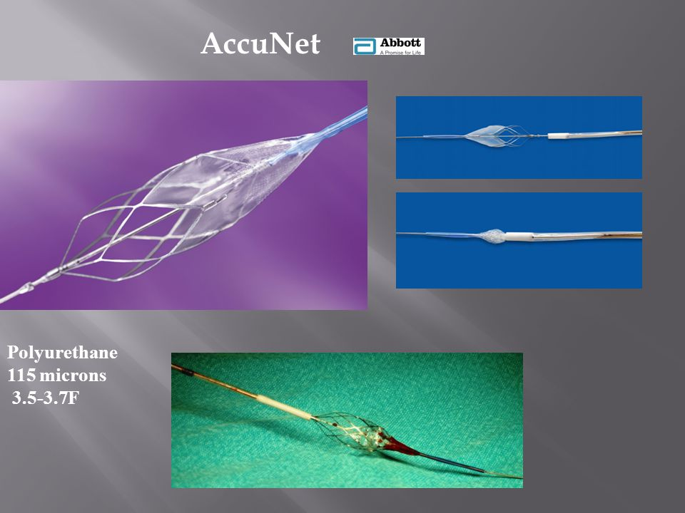 AccuNet Polyurethane 115 microns 3.5-3.7F