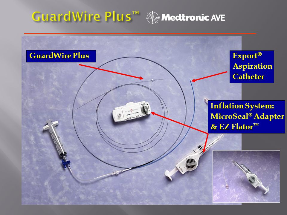 GuardWire Plus™ GuardWire Plus Export Aspiration Catheter