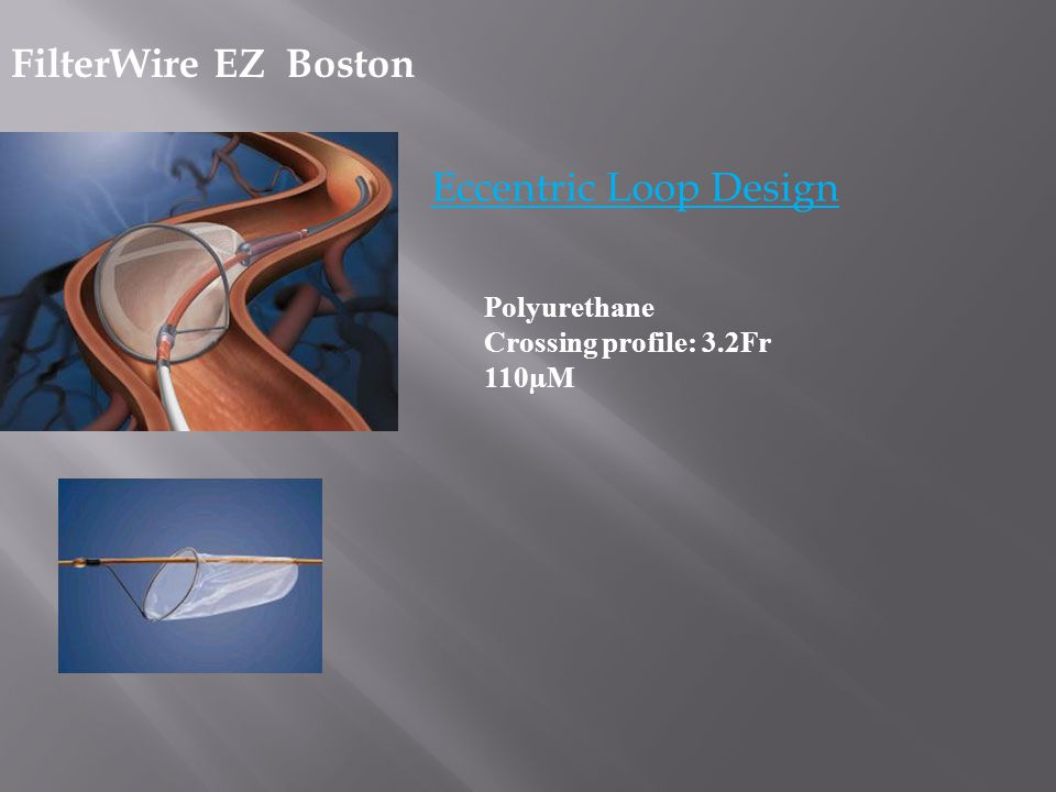 FilterWire EZ Boston Eccentric Loop Design Polyurethane