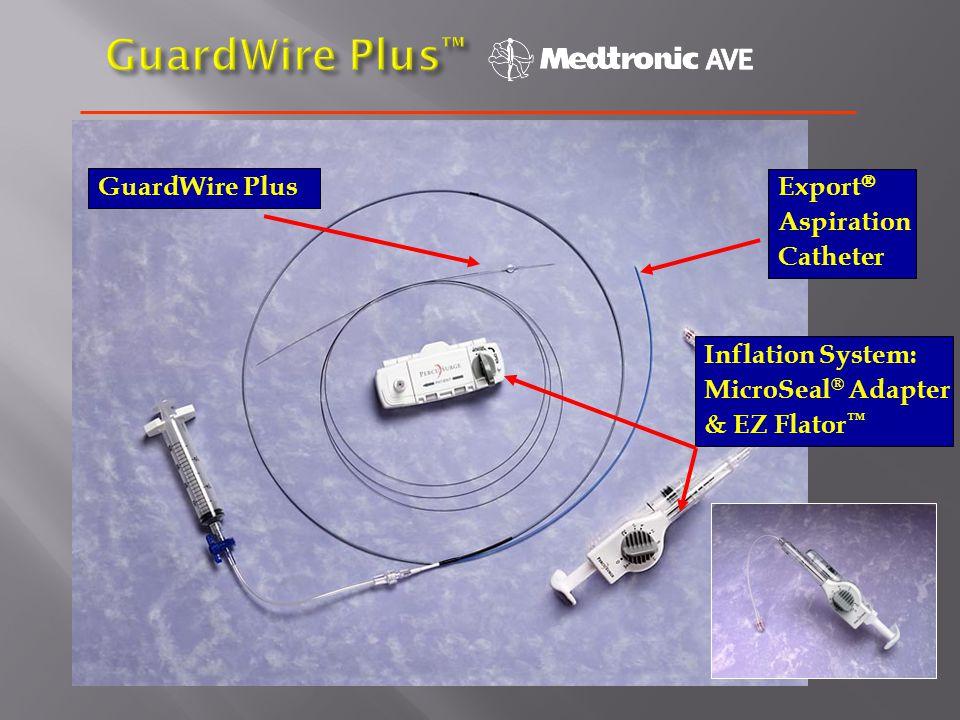 GuardWire Plus™ GuardWire Plus Export Aspiration Catheter