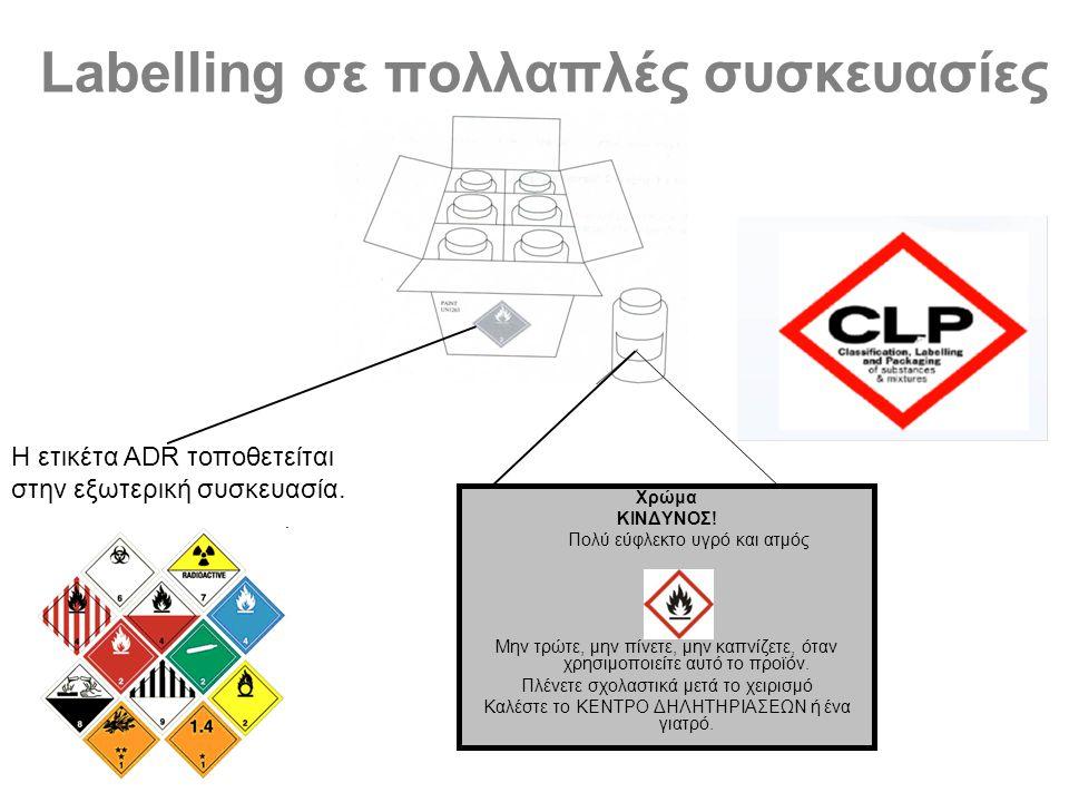 Labelling σε πολλαπλές συσκευασίες