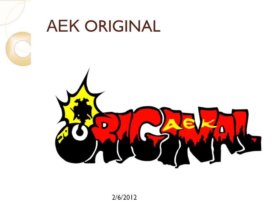 ΑΕΚ ORIGINAL 2/6/2012