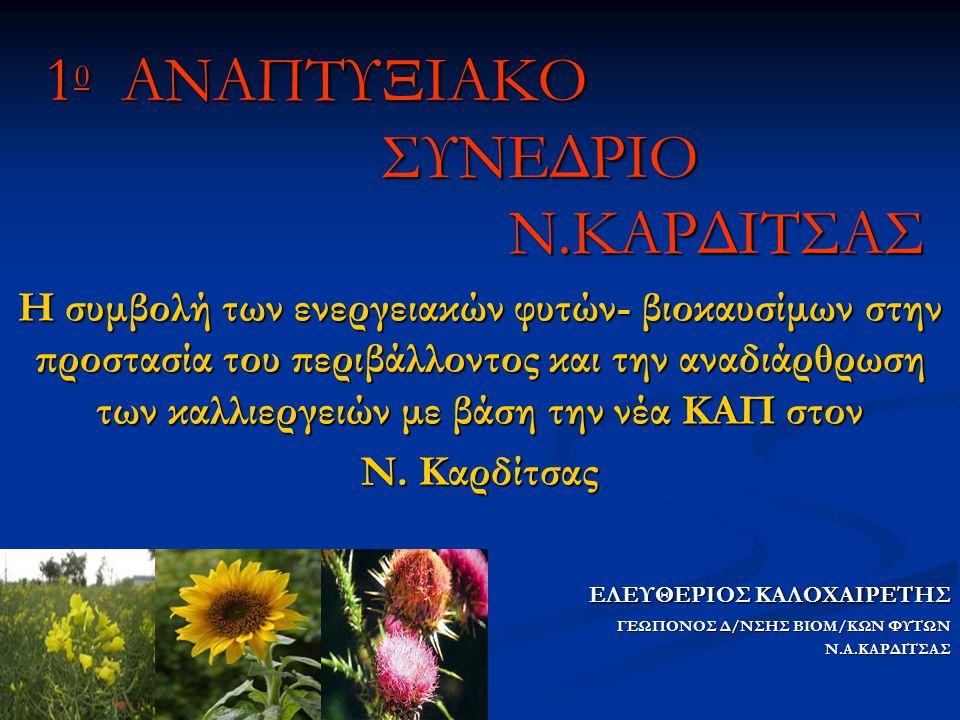 10 ΑΝΑΠΤΥΞΙΑΚΟ ΣΥΝΕΔΡΙΟ Ν.ΚΑΡΔΙΤΣΑΣ
