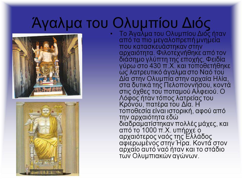 Άγαλμα του Ολυμπίου Διός