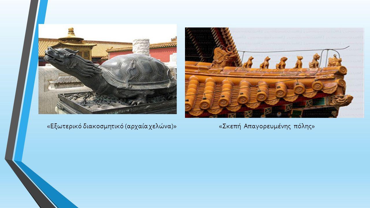 «Εξωτερικό διακοσμητικό (αρχαία χελώνα)»