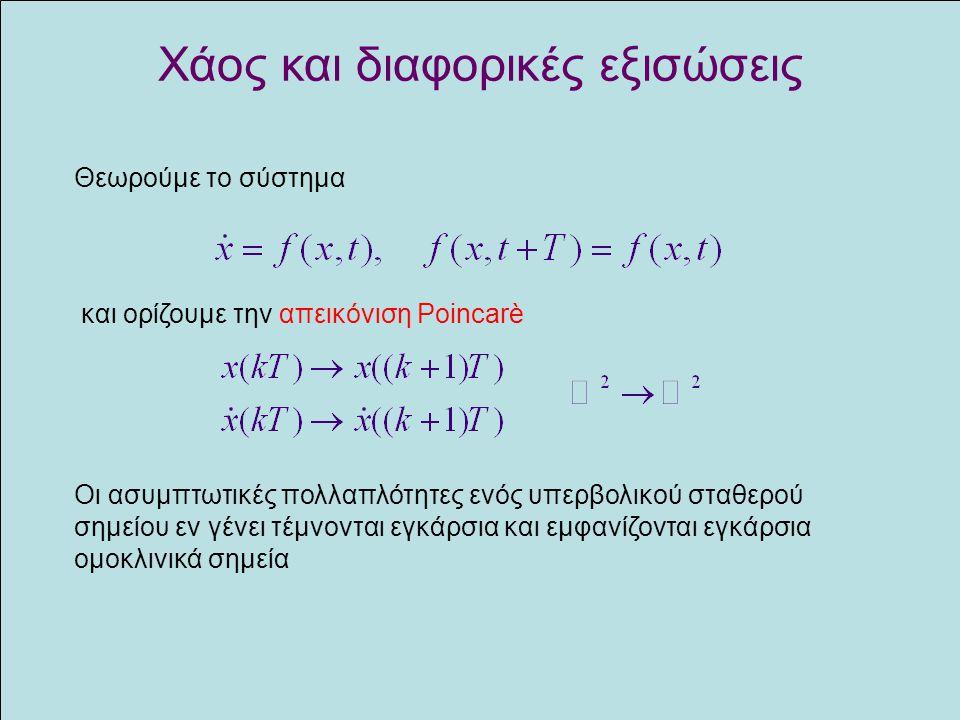Χάος και διαφορικές εξισώσεις