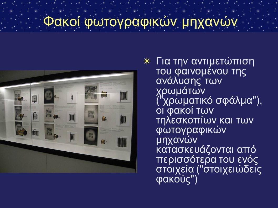 Φακοί φωτογραφικών μηχανών