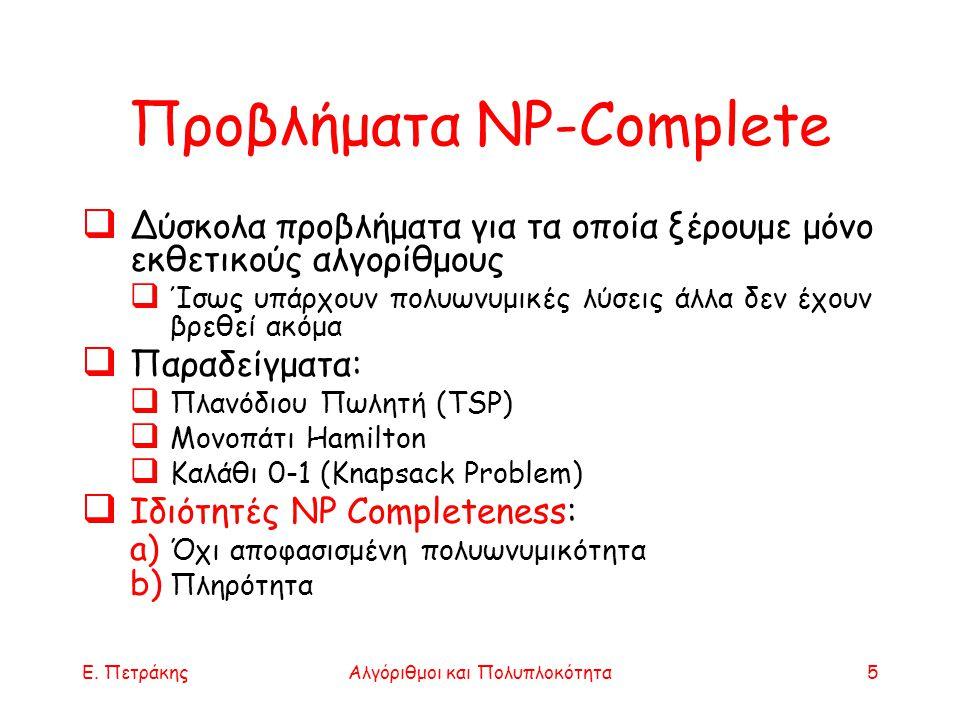 Προβλήματα NP-Complete