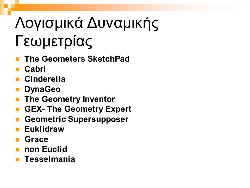 Λογισμικά Δυναμικής Γεωμετρίας