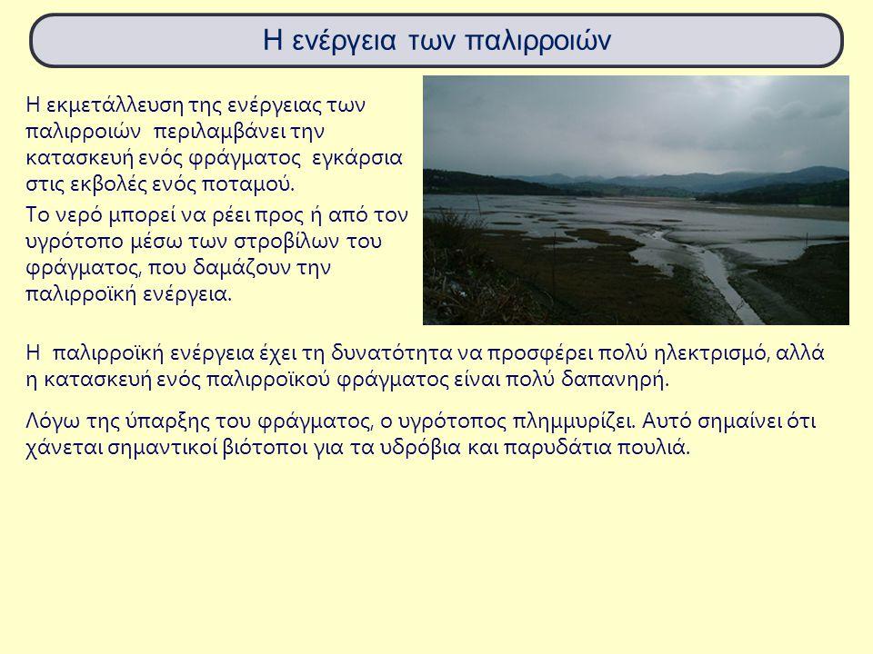 Η ενέργεια των παλιρροιών