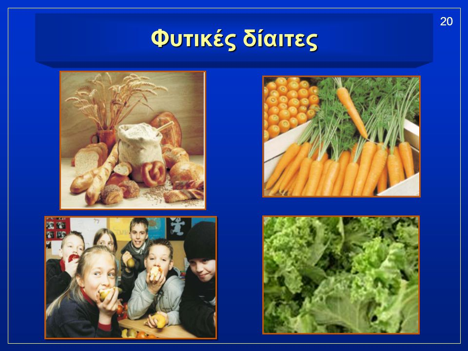 Φυτικές δίαιτες