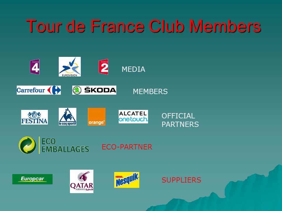 Tour de France Club Members