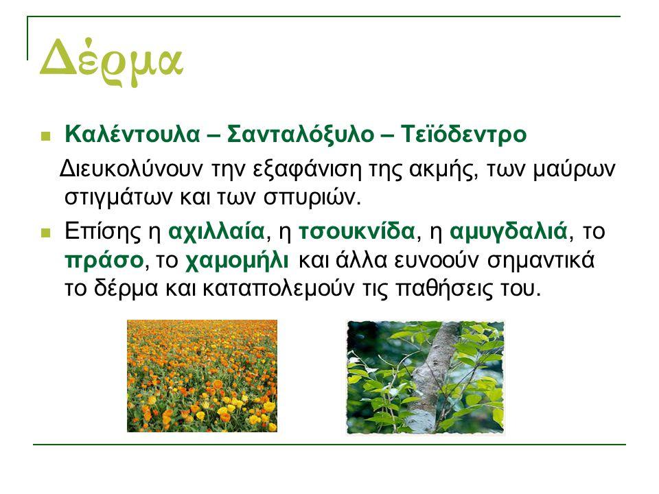 Δέρμα Καλέντουλα – Σανταλόξυλο – Τεϊόδεντρο