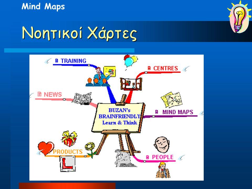 Mind Maps Νοητικοί Χάρτες