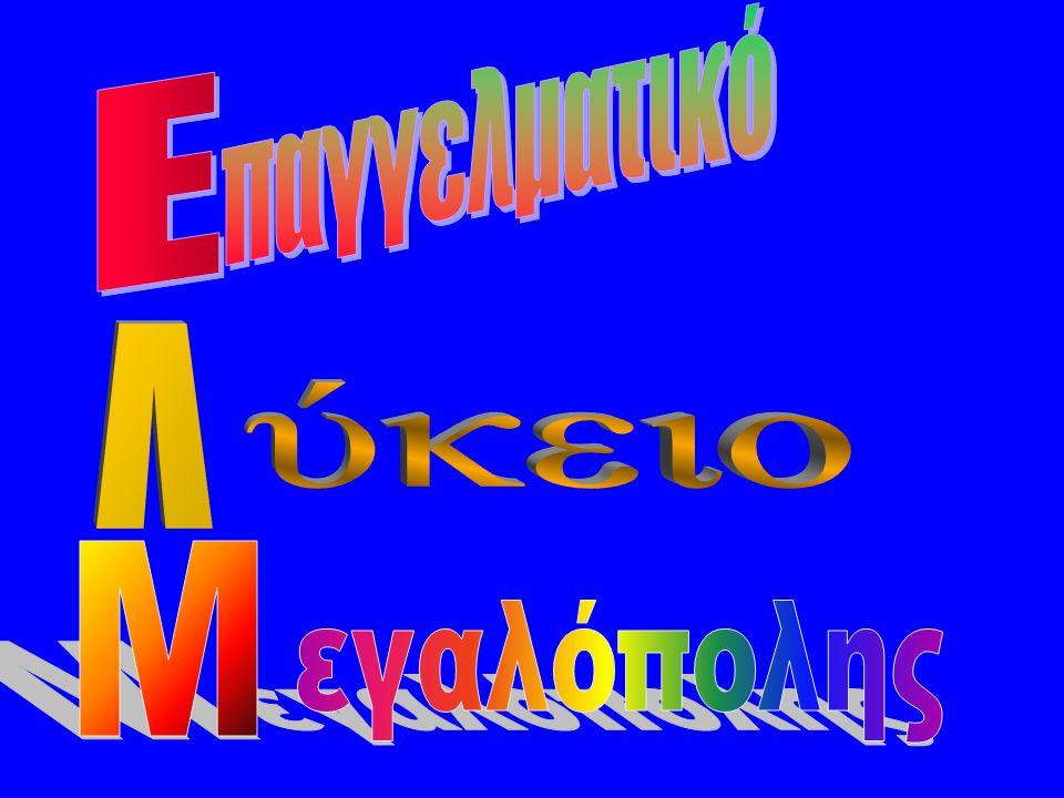 παγγελματικό E Λ ύκειο Μ εγαλόπολης
