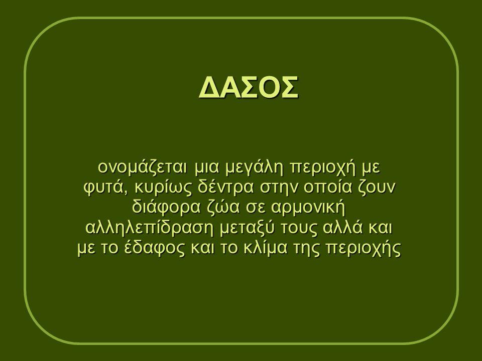 ΔΑΣΟΣ