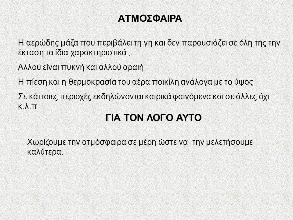 AΤΜΟΣΦΑΙΡΑ ΓΙΑ ΤΟΝ ΛΟΓΟ ΑΥΤΟ