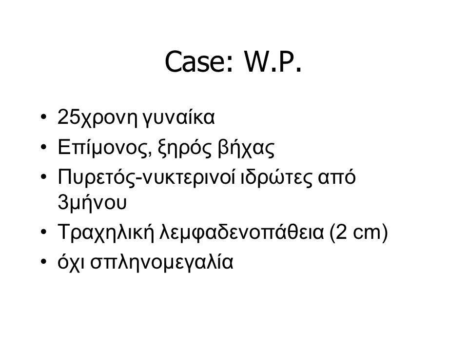 Case: W.P. 25χρονη γυναίκα Επίμονος, ξηρός βήχας
