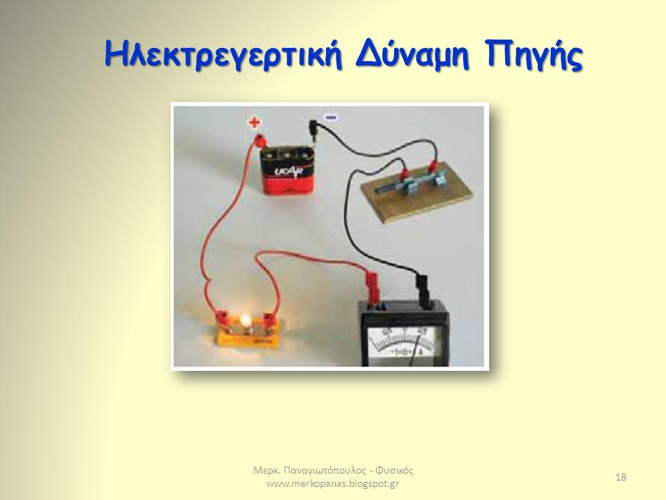 Ηλεκτρεγερτική Δύναμη Πηγής