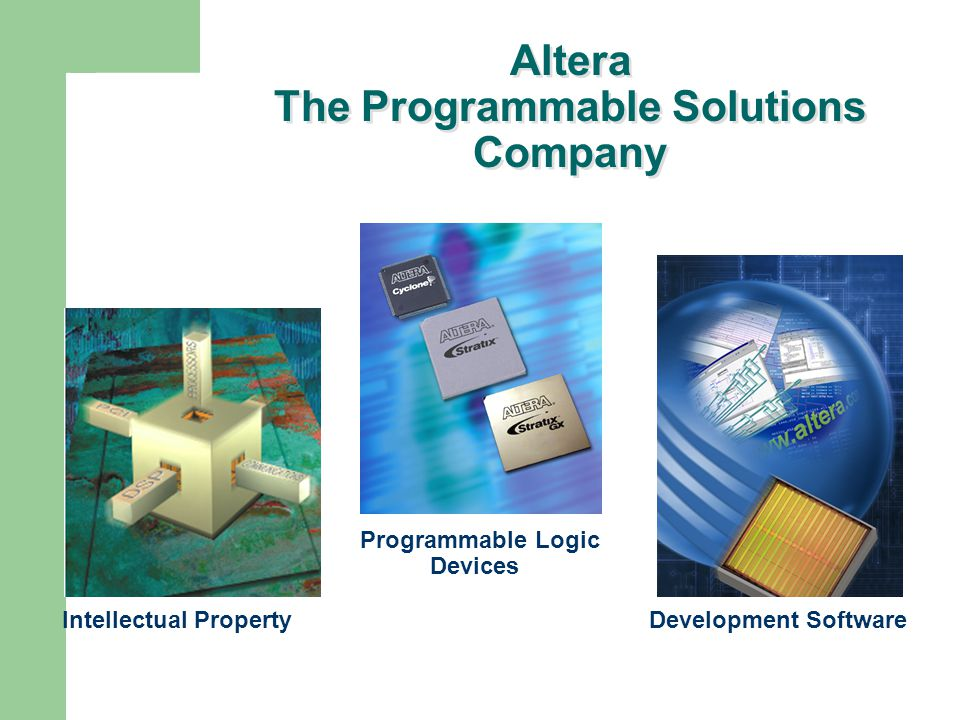 Altera The Programmable Solutions Company