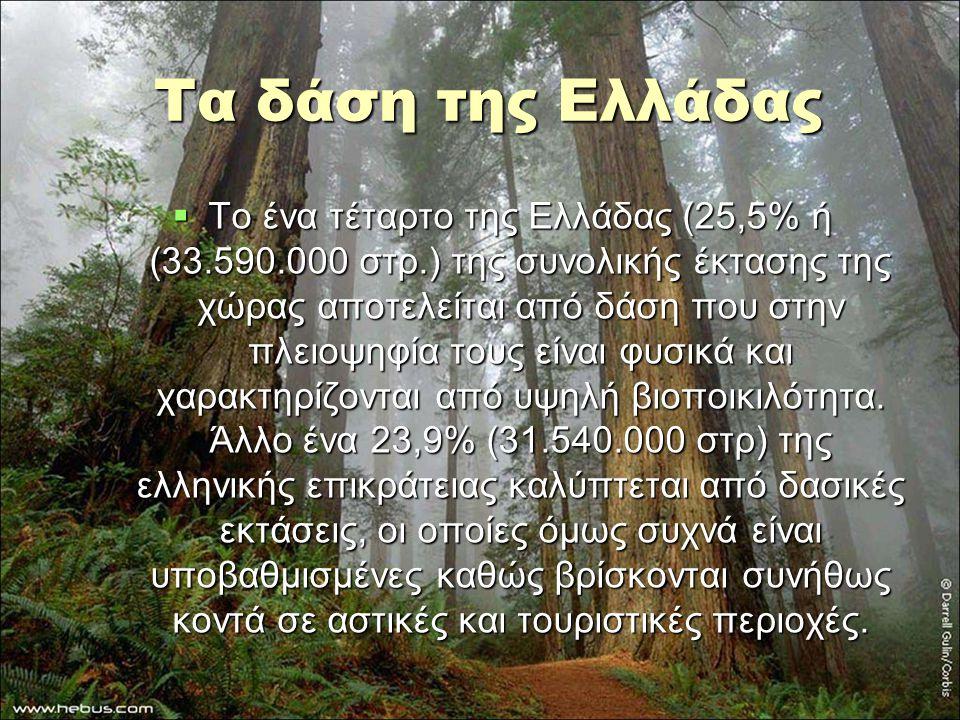 Τα δάση της Ελλάδας