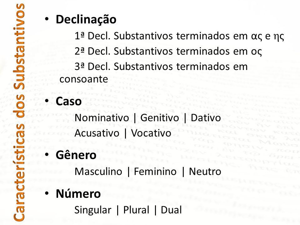Características dos Substantivos