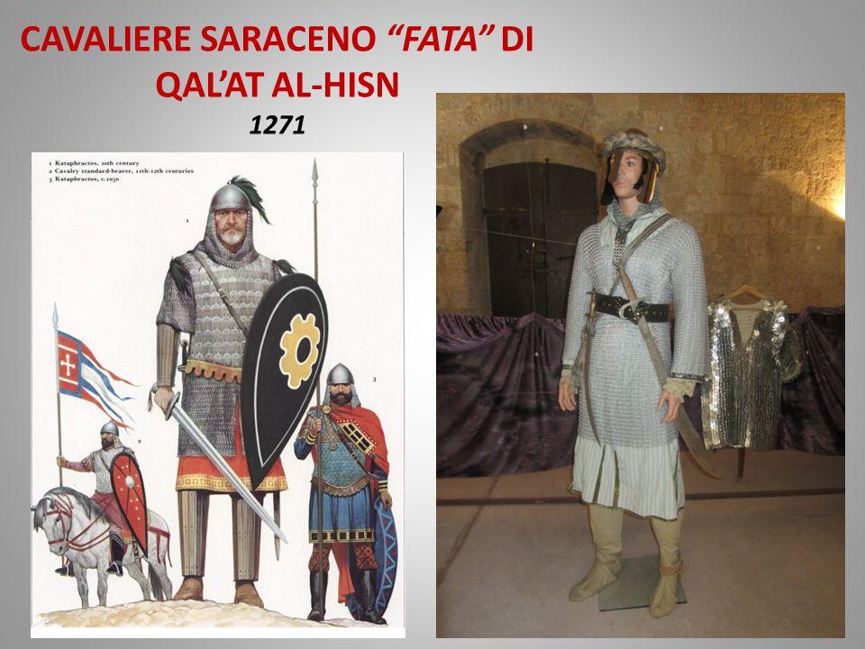 CAVALIERE SARACENO FATA DI QAL'AT AL-HISN