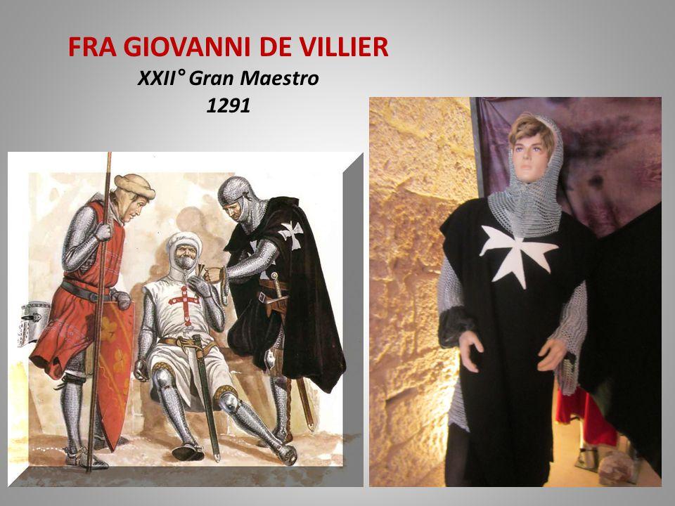 FRA GIOVANNI DE VILLIER