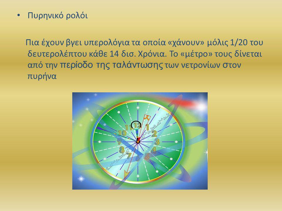Πυρηνικό ρολόι