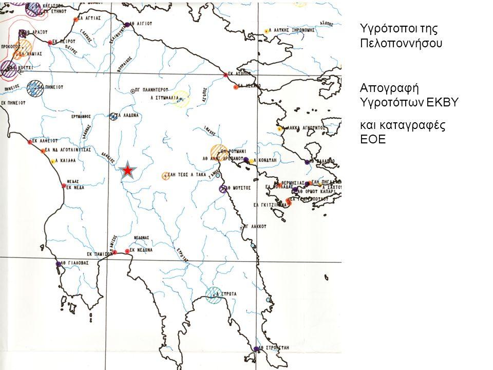 Υγρότοποι της Πελοποννήσου