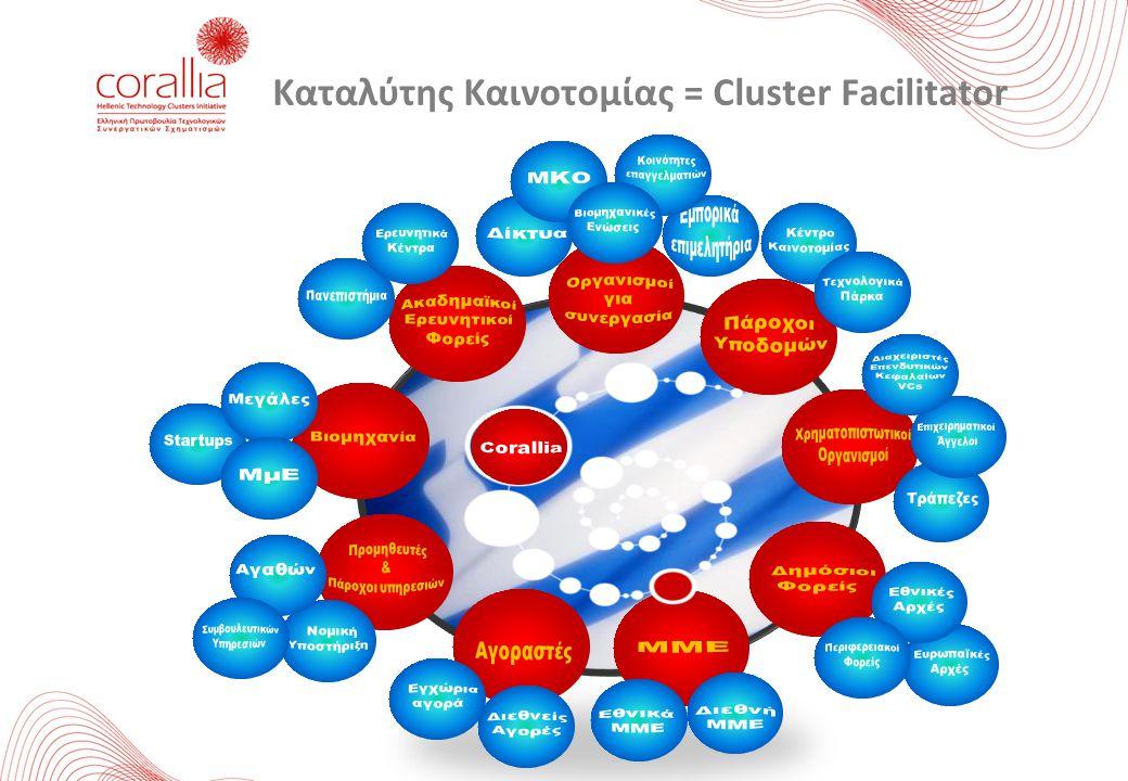 Καταλύτης Καινοτομίας = Cluster Facilitator