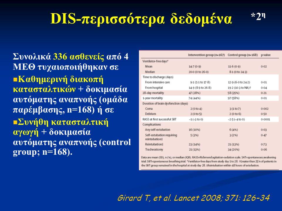 DIS-περισσότερα δεδομένα