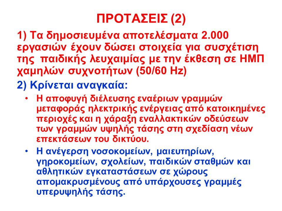 ΠΡΟΤΑΣΕΙΣ (2)