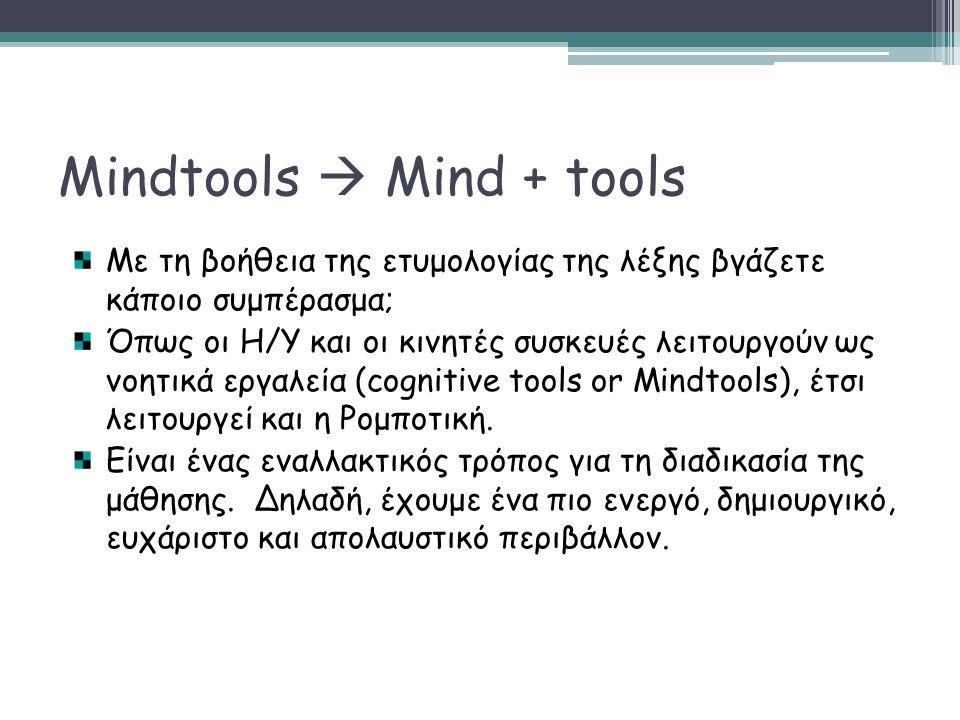 Mindtools  Mind + tools