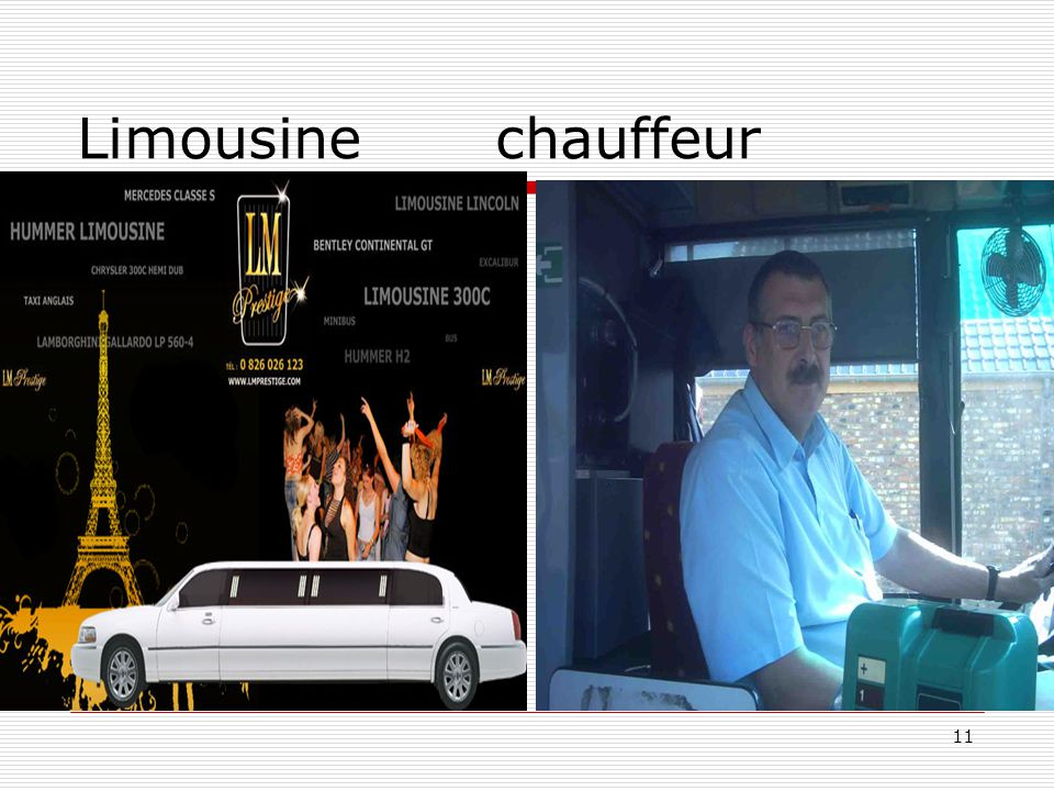 Limousine chauffeur