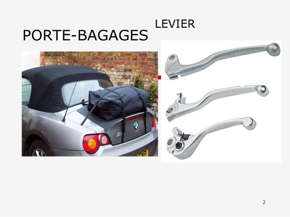 PORTE-BAGAGES LEVIER
