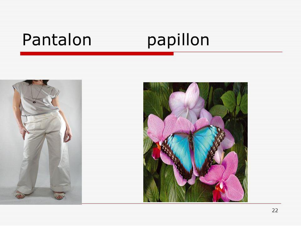 Pantalon papillon