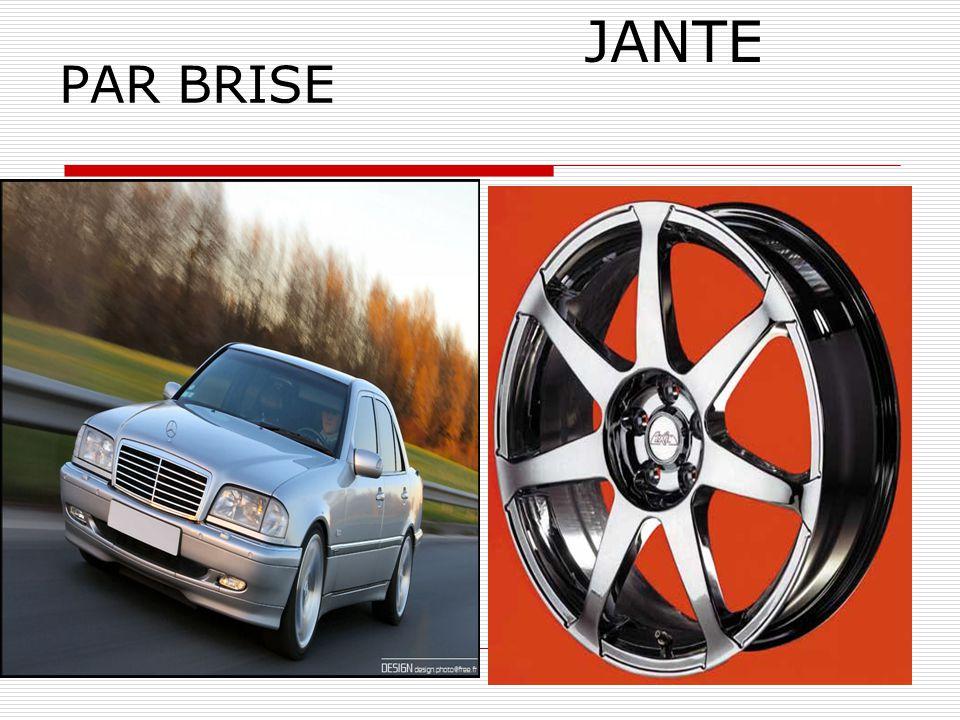 PAR BRISE JANTE