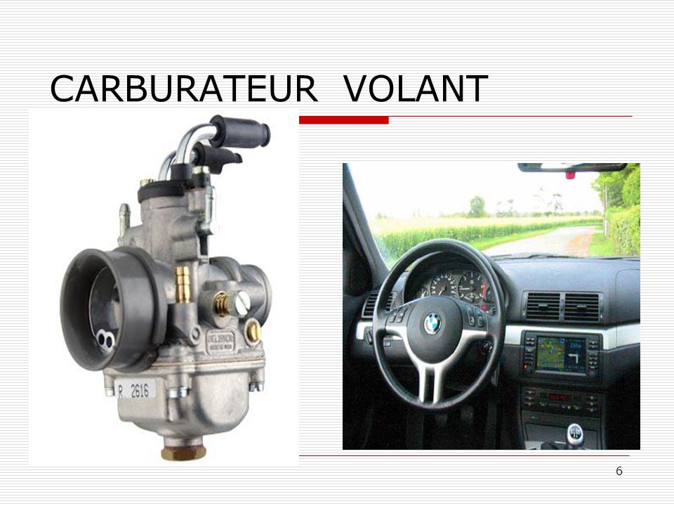 CARBURATEUR VOLANT