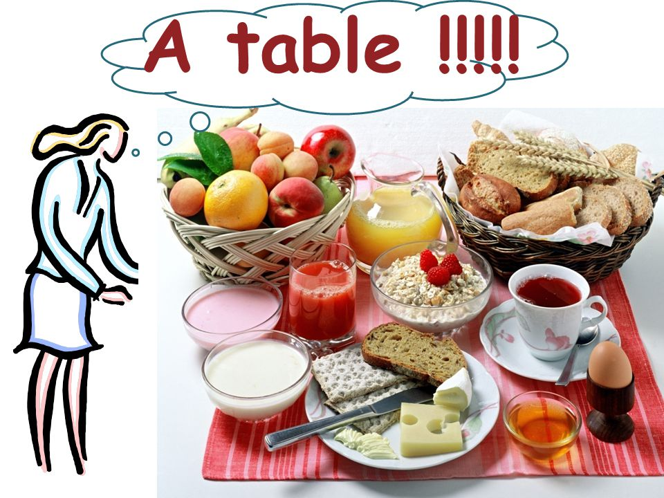 A table !!!!!