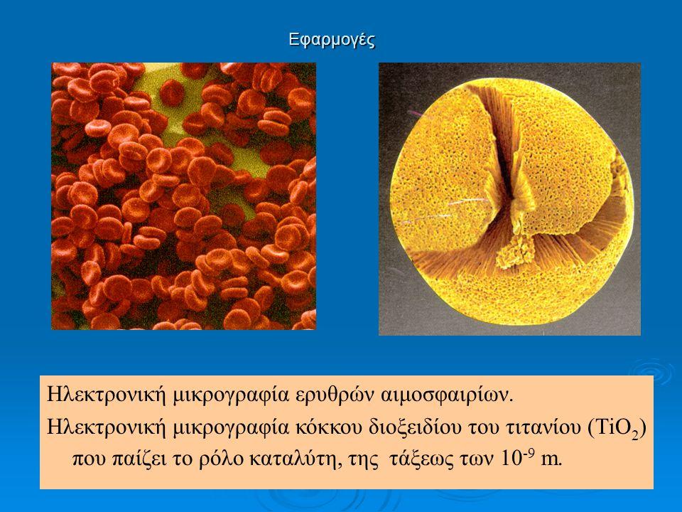 Ηλεκτρονική μικρογραφία ερυθρών αιμοσφαιρίων.